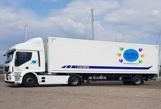 Vrachtwagen met City-trailer tot 15.500 kg(met laadklep)